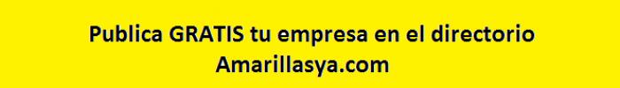 Publica tu empresa GRATIS, ¿Que esperas?
