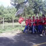 Alumnos en el Rally