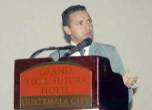 Jose Luis Zepeda en Ciudad de Guatemala